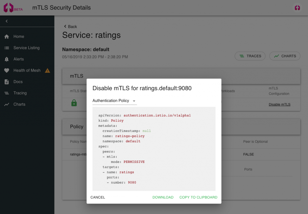Simplifying Microservices Security with Incremental mTLS