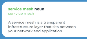 What is a service mesh
